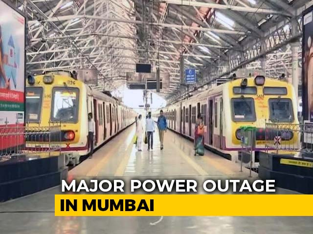 Video : Mumbai On Pause After Huge Power Outage