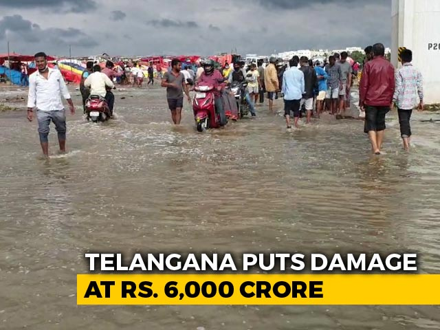 Video : The Aftermath Of Hyderabad Deluge That Killed Dozens