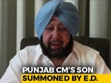 Video : Amarinder Singh's Son Summoned By Enforcement Directorate On Tuesday