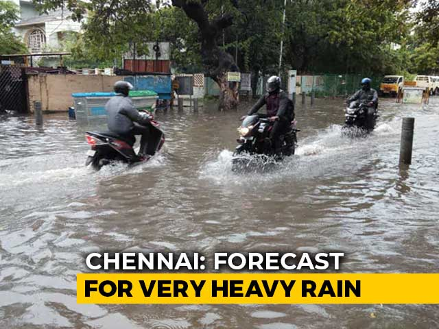 Video : Chennai Waterlogged As 20 Centimetre Rain Reminds Of 2015 Floods