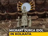 Video : Kolkata Durga Puja Pandal To Worship Migrant Mother As Goddess