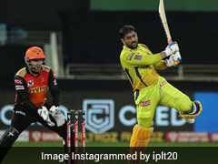 """IPL 2020, CSK vs SRH: MS Dhoni Says He Wasn't Able To Time The Ball And Tried To """"Hit Too Hard"""""""