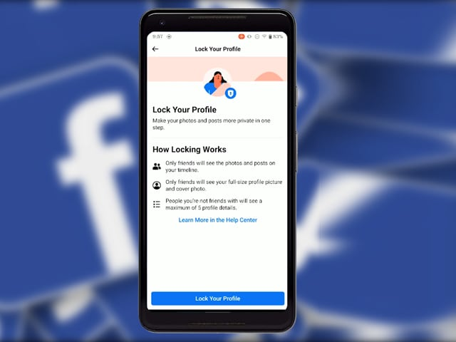 Video : How To Lock Your Facebook Profile Easily