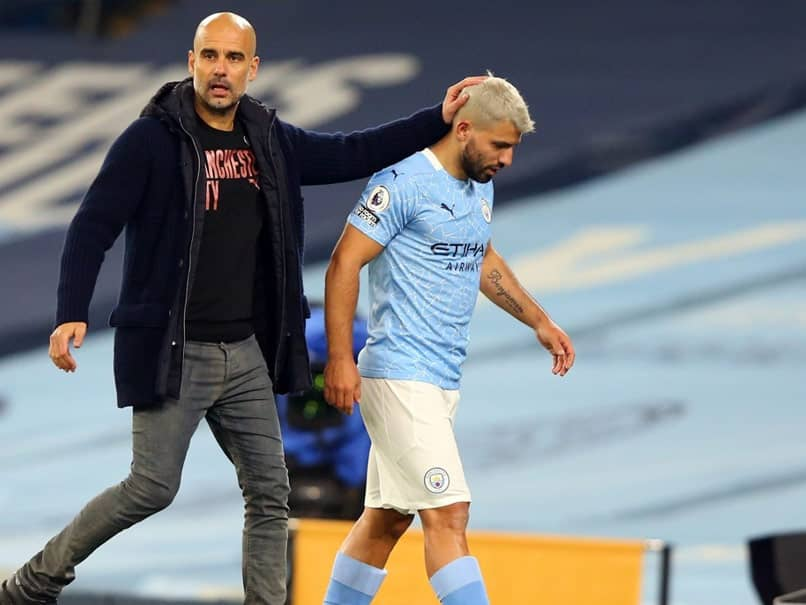 Pep Guardiola Defends Sergio Aguero Over Contact With Female Assistant Referee