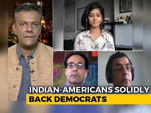 Video : 72% Indian-Americans Will Vote For Joe Biden: US Survey
