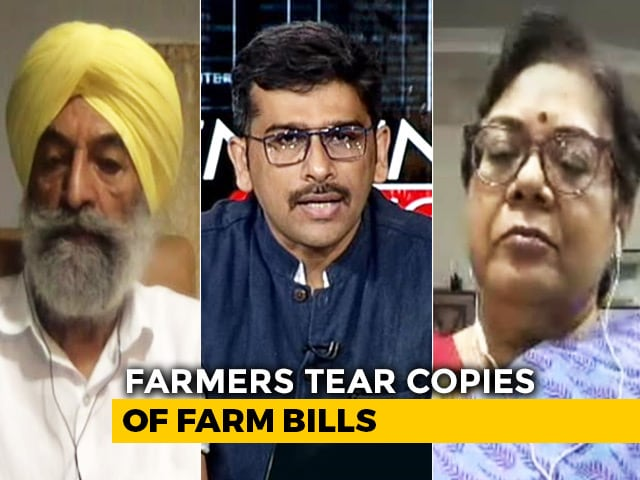 Video: Protesting Farmers Leave Meeting Over Minister's Absence