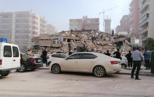 معاون شهردار گفت: 22 كشته ، تركيه و يونان از زلزله بزرگ به لرزه درآمده اند