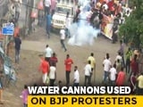 Video : BJP March To Mamata Banerjee's Office Stopped, Police Use Tear Gas