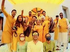 Trending: Pics From Neha Kakkar's <I>Haldi</i> Ceremony