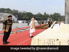 PM Modi, Amit Shah Pay Homage To Policemen Who Died In The Line Of Duty