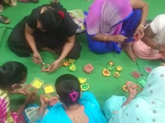 Delhi Sex Workers Hope For Brighter Future Making Diwali Lamps