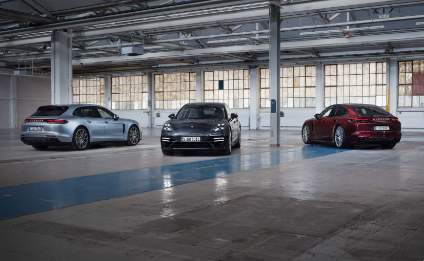 The Porsche Panamera gets a 17.9 kWh battery pack.