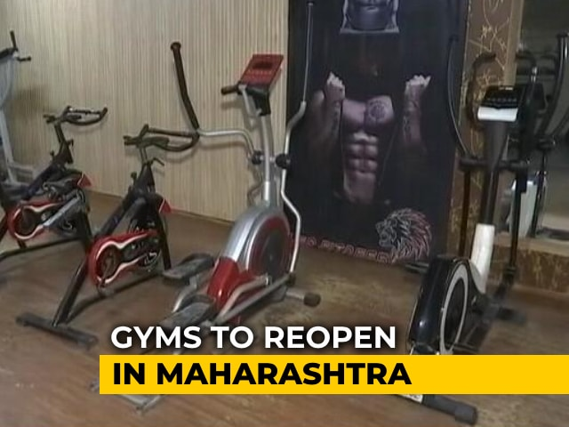 Video : Maharashtra Allows Gyms, Fitness Centres To Reopen From October 25