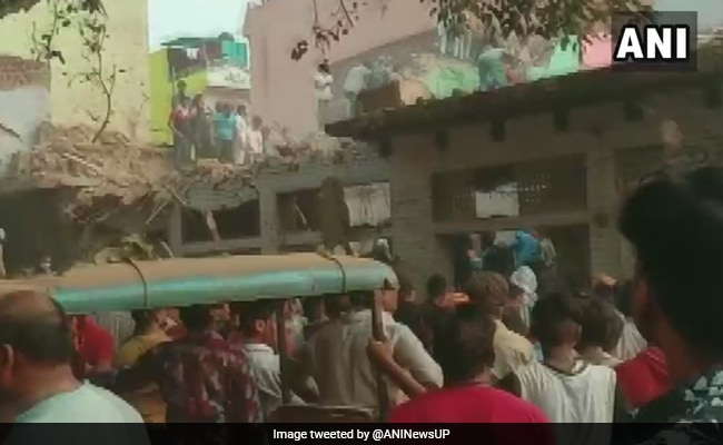 Death Count In Aligarh Cylinder Explosion Rises To 4, 12 injured