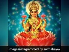 हॉलीवुड एक्ट्रेस ने मां लक्ष्मी की फोटो ट्वीट कर लिखा यह मैसेज, बिपाशा बसु का यूं किया रिएक्शन