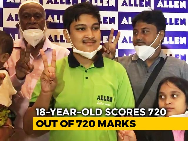 Video : Odisha Boy Scores Record 100% In NEET After Lockdown Grind In Kota