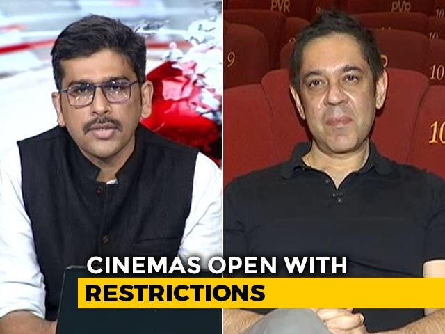 "Video : ""Best Practices Taken Into Account"": PVR's Sanjeev Bijli On Cinemas Reopening"