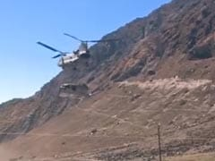 Watch: Chinook Helicopter Carries Debris Of IAF Helicopter From Kedarnath