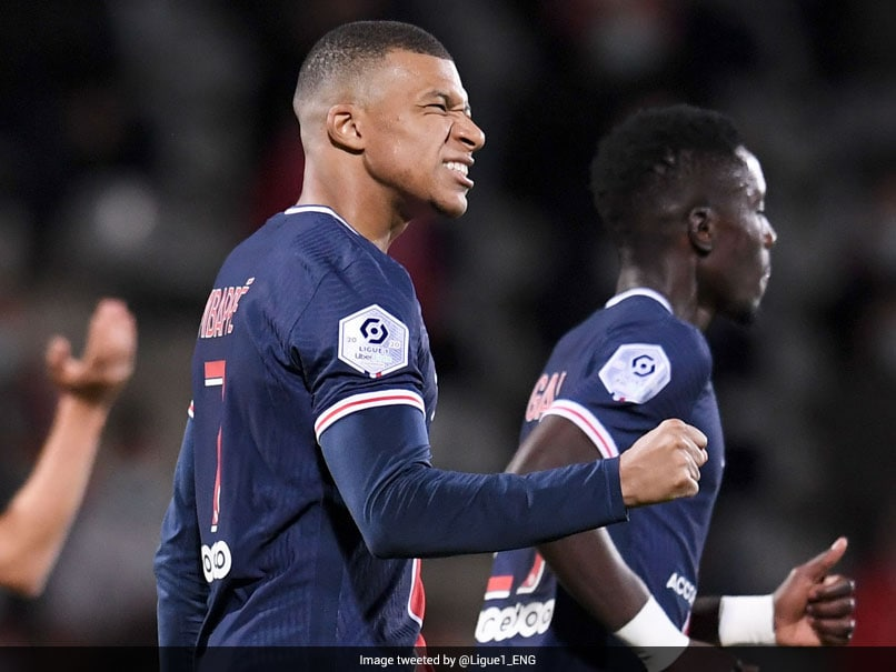 Ligue 1: Tireless Kylian Mbappe Sends PSG Top With Brace At Nimes