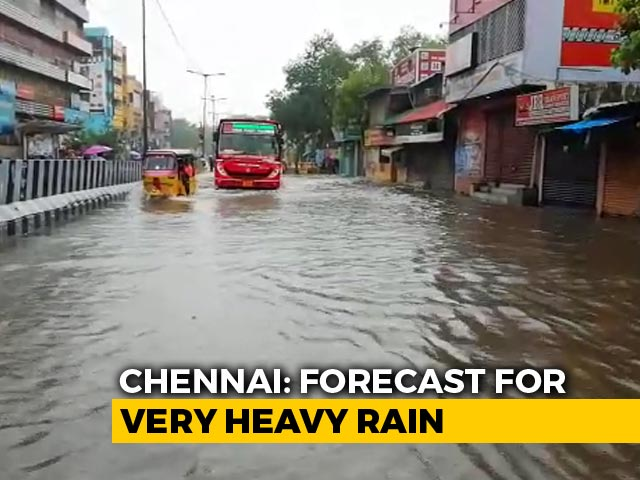 Video : Heavy Rain Forecast In Tamil Nadu