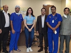 Recovered From COVID-19, Tamannaah Thanks The Medical Staff For Helping Her