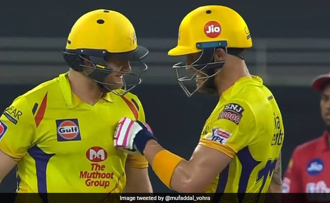 IPL 2020 Shane Watson and Faf du Plessis stand of 181* runs Highest for CSK in IPL for any wicket