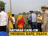 Video : Hathras Victim's Mother Taken To Crime Scene By CBI After Hospital Visit