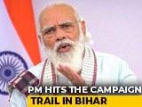 Video : PM Modi To Begin Bihar Campaign Today