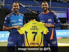 "IPL 2020, CSK vs MI: MS Dhoni Gives Away His ""No. 7"" CSK Jersey To Hardik, Krunal Pandya"