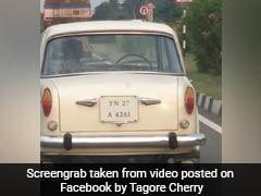 बिना ड्राइवर के सड़क पर दौड़ती दिखी Fiat कार, देखने वालों के उड़े होश, आप भी देखें Viral Video