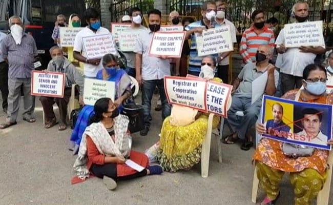 Depositors Of Crisis-Hit Banks Protest Again In Bengaluru