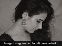 Fatima Sana Shaikh Reminds Us Of Gorgeous <i>Sarees</i> And Rainy Days Gone By