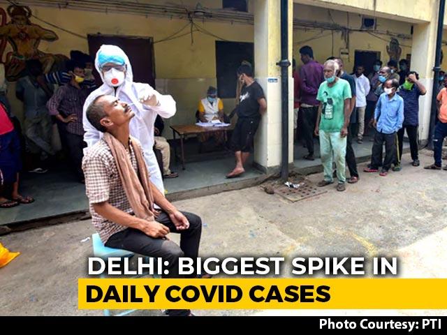 Video : Delhi Records Highest Single-Day Covid Cases At 5,739