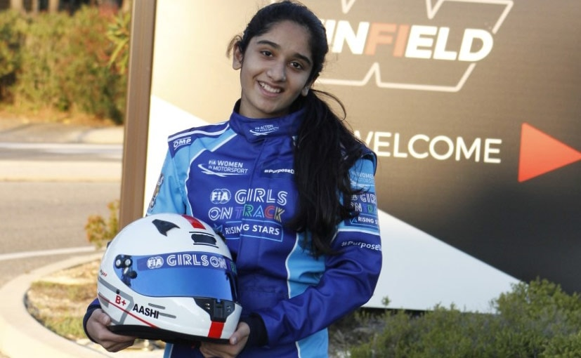 Mumbai's Aashi Hanspal Karting made her karting debut last year, securing 4 podiums in her maiden year