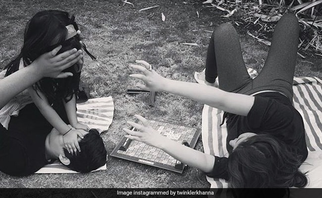 How Twinkle Khanna's Peace Was Shattered By Aarav And Nitara's 'War Zone'