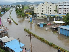 Flood-Like Situation In Maharashtra, Karnataka; NDRF Teams Rescue People
