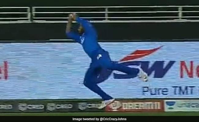 DC vs RR: रहाणे ने गजब की फील्डिंग कर ऐसे बचाया छक्का, Rahul Tewatia देखते रह गए..देखें Video