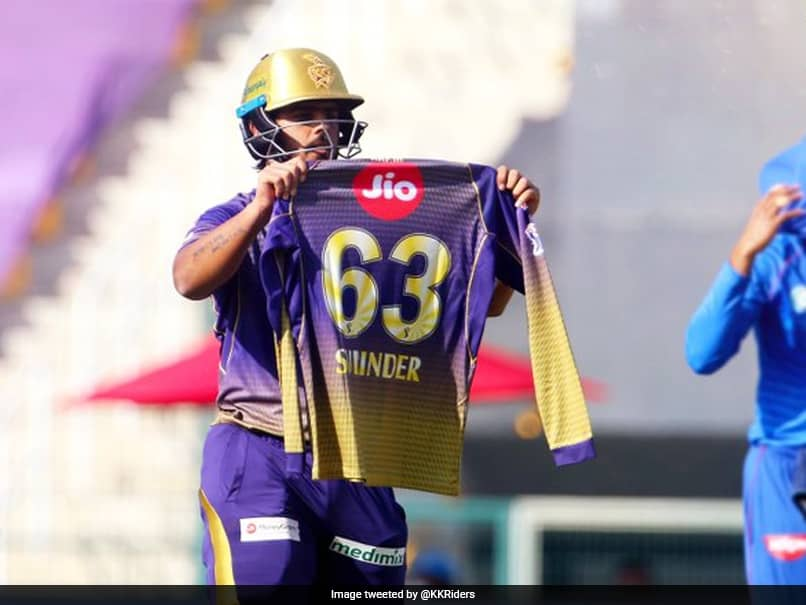 IPL 2020, KKR vs DC: Nitish Rana Pays Special Tribute To Father-In-Law After Scoring Cracking Half-Century. Watch
