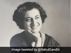 """From Darkness To Light"": Rahul Gandhi's Tribute To Indira Gandhi"