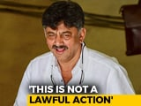 "Video : ""Vendetta"": DK Shivakumar On Rs. 75 Crore Disproportionate Assets Case"