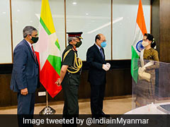 Foreign Secretary, Army Chief Meet Myanmar's Aung San Suu Kyi To Discuss Bilateral Issues
