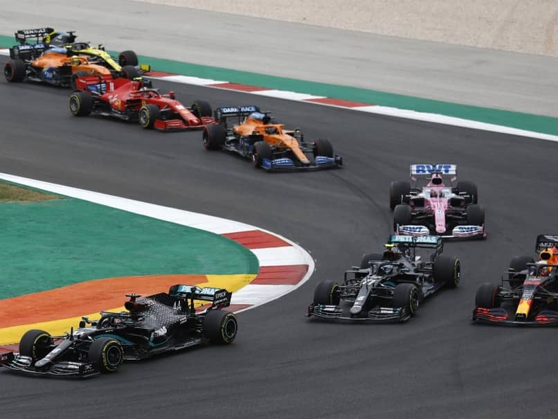 F1 Pencils In Record 23 Races For 2021, Includes Saudi Arabia