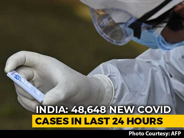 Video : India's Covid Tally At 80.88 Lakh; 48,648 New Cases, 563 Deaths In A Day