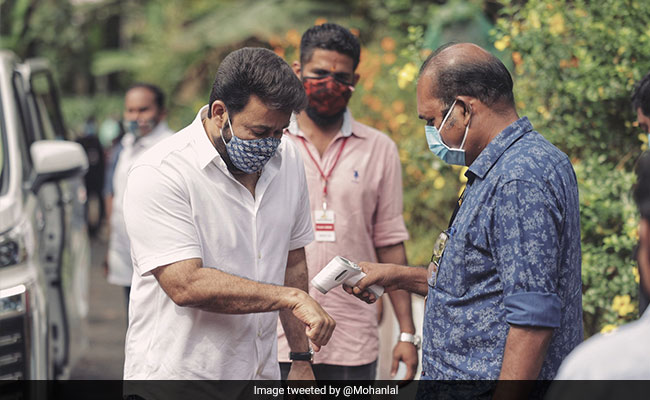 Trending: Mohanlal Shared This Pic From Drishyam 2 Set