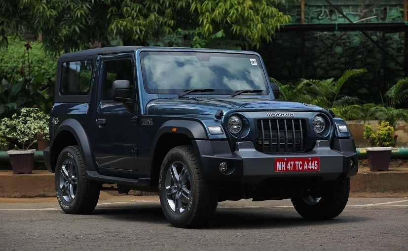 1577  Units Of The Mahindra Thar Recalled In India