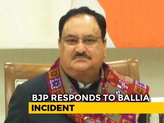 Video: 'Don't Interfere': BJP Chief's Tough Warning For MLA Over UP Firing