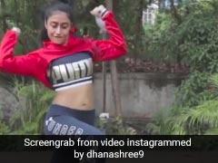 युजवेंद्र चहल की मंगेतर धनाश्री वर्मा ने गार्डन में किया ताबड़तोड़ डांस, देखें Video