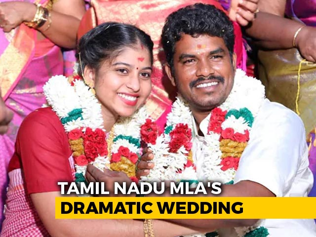 Video : Tamil Nadu Dalit MLA, 36, Marries 19-Year-Old Daughter Of Temple Priest, Stirs Row