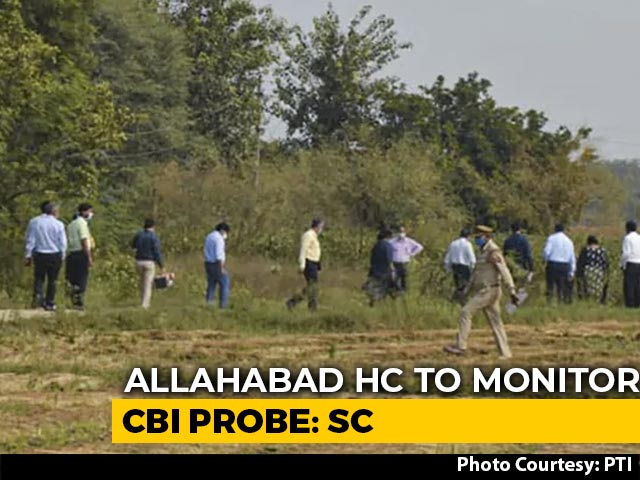 Video : Hathras Case: High Court To Monitor CBI Probe, Says Supreme Court