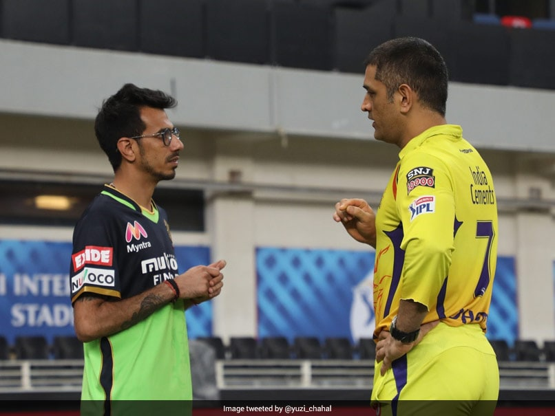"""""""Who Guides Me The Right Path..."""": Yuzvendra Chahal Shares Pic With MS Dhoni"""